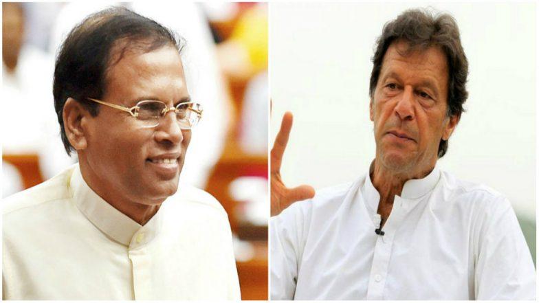 Sri Lanka President Maithripala Sirisena to Hold Talks with Pakistan's PM Imran Khan Over Drug Convicts