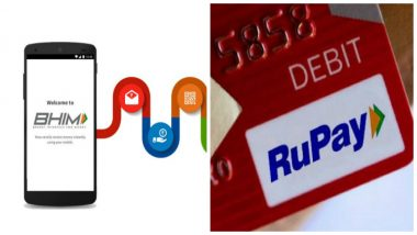 BHIM UPI and Rupay Card Users Set to Get Cashbacks for Making GST Transactions Online to Boost Digital Payments