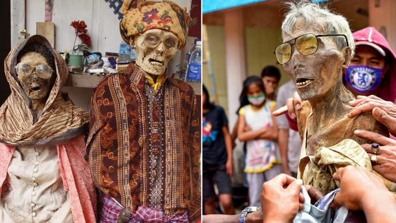 Indonesia's Ma'nene 'Zombie' Festival Has Tourists Posing With The Dead, Watch Video & Pics