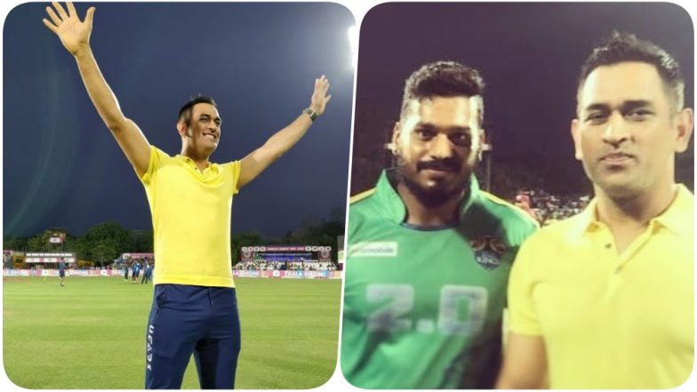 Dhoni enjoys in Nellai!