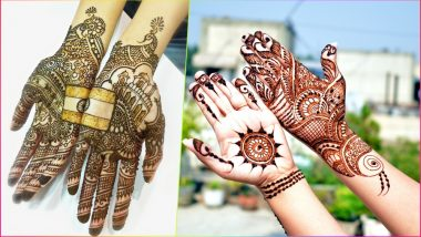 Easy Mehndi Designs for Independence Day 2018: Simple Mehandi Patterns to Apply on Hands This 15th August (Watch Video Tutorials)