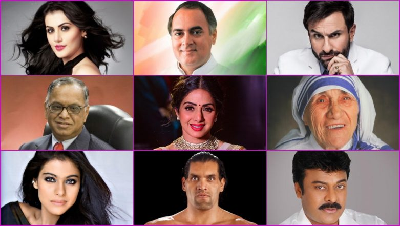 Famous Indian Celebrities Birthdays In August From Sridevi To Rajiv Gandhi To The Great Khali You Share Your Birthday Month With These Influential Figures Latestly