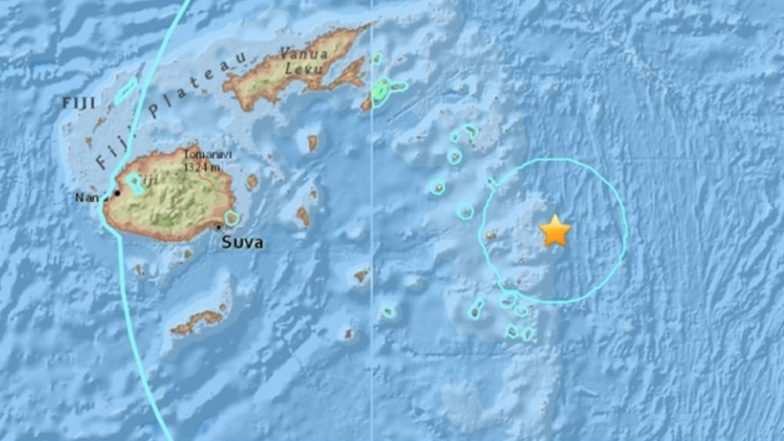 Earthquake in Fiji: Strong 8.2 Magnitude Quake Strikes in Pacific Ocean Near Tonga, No Tsunami Warning