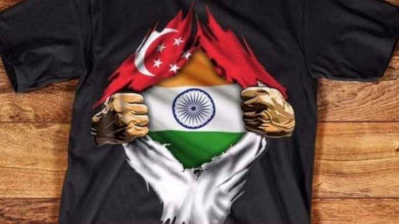 Indian Origin Man in Trouble for Disrespecting Singaporean Flag