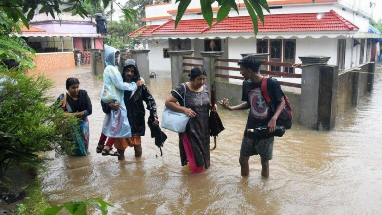 Flood Situation Worsens in Maharashtra, Kerala, Karnataka: Over 40 Killed in Deluge; NDRF, Navy Deployed