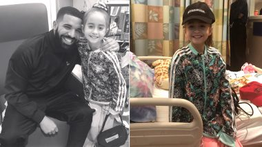 Drake Visits 11-Year-Old Fan Whose Kiki Challenge From Hospital Wheelchair Went Viral (Watch Video)
