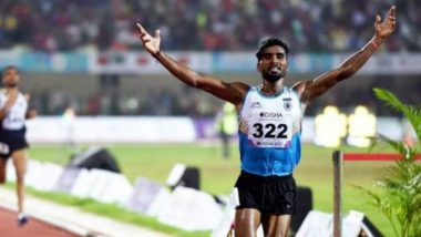 Govindan Lakshmanan Stripped Off Bronze Medal in Men's 10,000m at Asian Games 2018 for Stepping Out of the Track in Finals