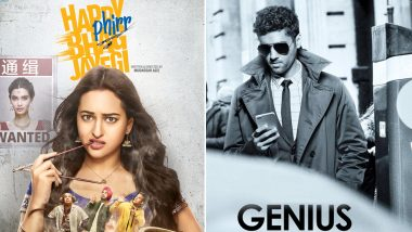 Sonakshi Sinha's Happy Phirr Bhag Jaayegi or Utkarsh Sharma's Genius - Which Film Are You Rooting For This Week? Vote Now