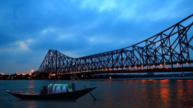 West Bengal: Newly-Constructed Crematorium Collapses Into Hooghly River Before Inauguration in Howrah