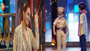 India's Best Dramebaaz Written Episode Update, August 25, 2018: Sonakshi Sinha Readily Agrees to Kiss a Little Chulbul Pandey And Also Demands to Take Him Home