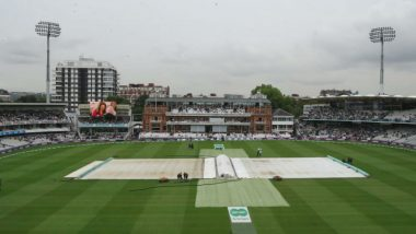 India vs England 2018 2nd Test: Check out the Weather Forecast for Rest of the Days at Lord's