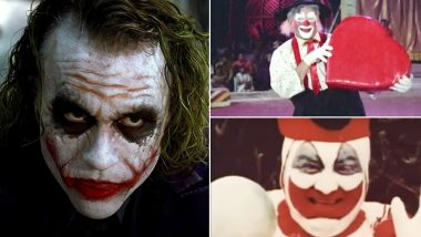 International Clown Week 2018: From Funny to Evil, 7 Most Iconic Clowns The World Has Known (View Pics)