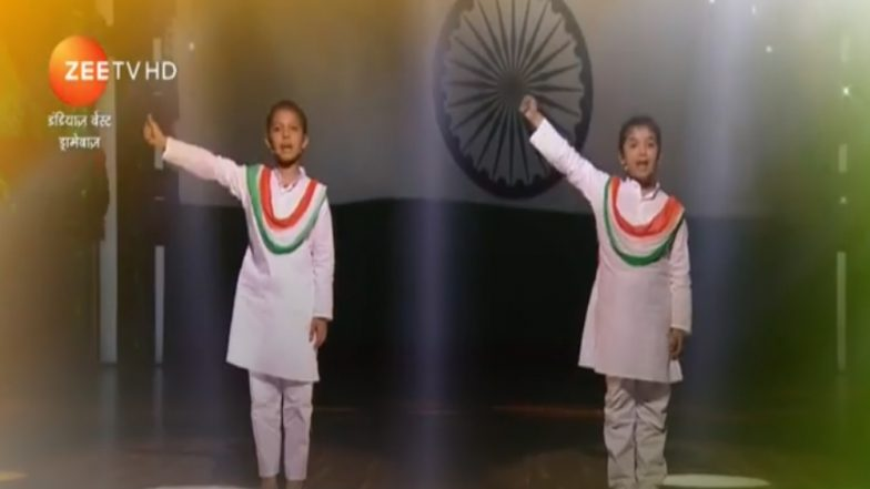 India's Best Dramebaaz Written Episode Update, August 12, 2018: Kids Celebrate Independence Day With a Colorful Musical Tribute