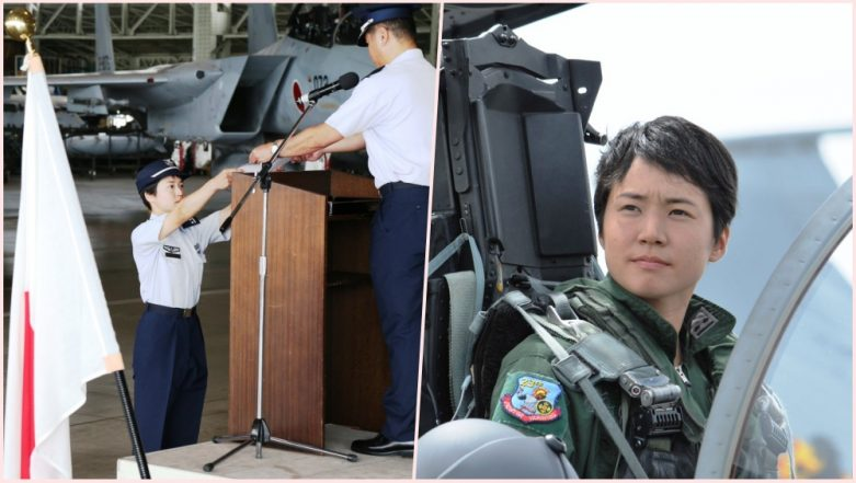 Lt. Misa Matsushima Becomes First Woman Fighter Pilot in Japan Air Self Defense Force