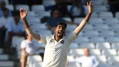 India vs England 2018 3rd Test: Did Pacer Jasprit Bumrah Ask Michael Holding to Shut Up? (Watch Video)
