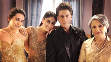 Shah Rukh Khan Spends a GOLDEN Evening with Kareena Kapoor Khan, Karisma Kapoor and Sharmila Tagore - View Pic