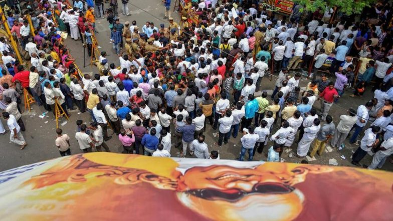 Karunanidhi Funeral Live Streaming on Sun News: Watch Antim Darshan And Last Rites of DMK Patriarch Kalaignar in Chennai