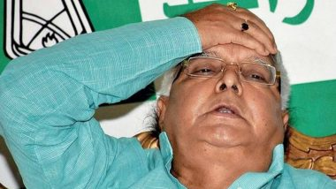 Fodder Scam Cases: Lalu Prasad Files Petition in Jharkhand High Court for Bail