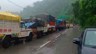 Himachal Pradesh: NH 20 From Mandi to Pathankot & NH 21 From Chandigarh to Manali Closed Due to Landslides