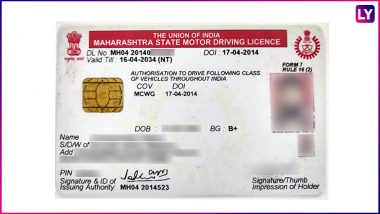 Driving Licence Validity, Vehicle Registration Certificate and Permits Extended Till September 30 Amid COVID-19 Pandemic