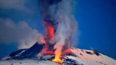 Mount Etna, Europe's largest volcano Explodes, Spews Huge Blocks of Lava