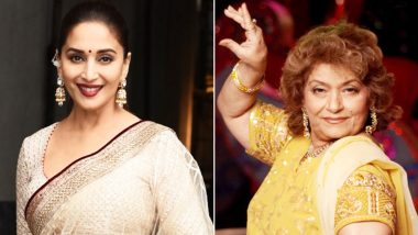 Madhuri Dixit is all praises for her Kalank choreographer Saroj Khan, says 'Tabahi' song belonged to her