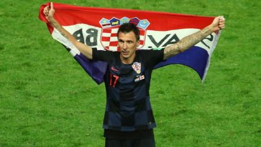 Croatia's FIFA World Cup 2018 Hero Mario Mandzukic Retires From International Football; Posts an Emotional Message on Social Media
