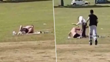 Dad Slaps Couple Having Sex in Children's Cricket Ground in Leeds, Watch Video