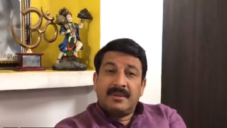 Manoj Tiwari Demands NRC in Delhi; To Meet Amit Shah