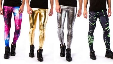 'Meggings' Or Leggings For Men Are Going Viral, Because Why Not? (view pics)