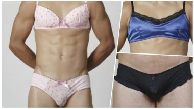 Sexy Lacy Lingerie But For Men! This Website is Selling Male Bras and Knickers