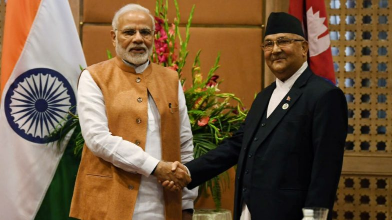 Bimstec Summit 2018: PM Narendra Modi, KP Oli Discuss Bilateral Issues, Ink MoU on Railway Project