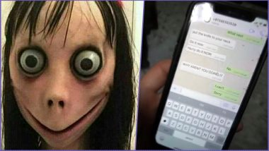 Momo Challenge WhatsApp Game Claims First Life in India? Darjeeling Boy Found Hanging With Graffiti Drawn on Wall