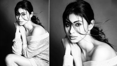 Mouni Roy Looks Breathtakingly Beautiful in This Black and White Picture
