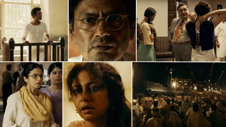 Manto Trailer Twitter Review: Nawazuddin Siddiqui-Nandita Das' Movie on Censorship in 1947 Has Impressed the Netizens