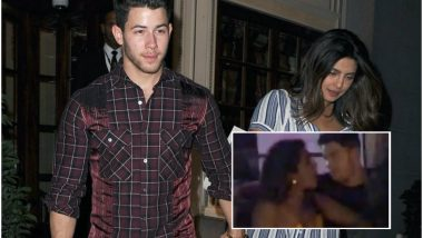 Nick Jonas Whispers Something in Priyanka Chopra's Ears While Partying at a Club in Singapore (Watch Video)