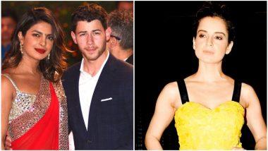 Kangana Ranaut Just Confirmed Priyanka Chopra-Nick Jonas Engagement So You Can Stop Being Sceptical - Watch Video