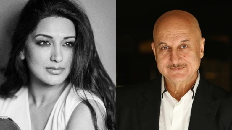 Anupam Kher Spends Quality Time With Sonali Bendre Behl In New York, Calls Her A Hero - View Tweet
