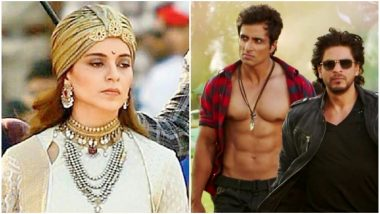 Manikarnika: Is Kangana Ranaut Right in Claiming Sonu Sood 'Doesn't Want to Work Under Female Directors'? This Shah Rukh Khan Film Says NO!