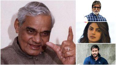Farewell Atal Bihari Vajpayee: Amitabh Bachchan, Ajay Devgn, Priyanka Chopra, Pawan Kalyan, Rajinikanth, Dhanush Mourn the Loss of Atalji - Read Tweets