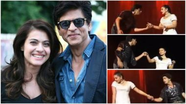 Shah Rukh Khan Romancing Kajol on Stage in this Throwback Video Will Make You Long For a DDLJ Reprise