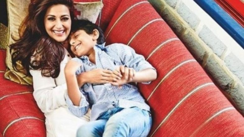 Sonali Bendre Posts an Emotional Birthday Message on Instagram for Her Son As She Is in the US Fighting Cancer – Watch Video