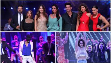 Miss Diva 2018 Finale: Tiger Shroff and Sonakshi Sinha's Dance Acts Steal The Show While Neha Dhupia, Sushant Singh Rajput, Shilpa Shetty Grace the Event - View Pics