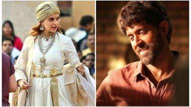 Will Kangana Ranaut's Manikarnika: The Queen of Jhansi Avoid Clash With Hrithik Roshan's Super 30?