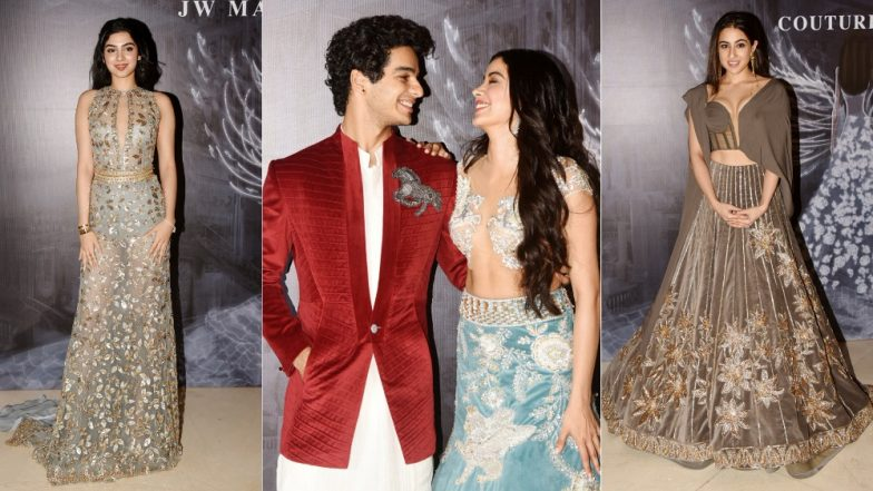 Janhvi Kapoor, Sara Ali Khan, Ishaan Khatter - When All The Star Kids Got An Invite To Walk For Manish Malhotra's Fashion Show