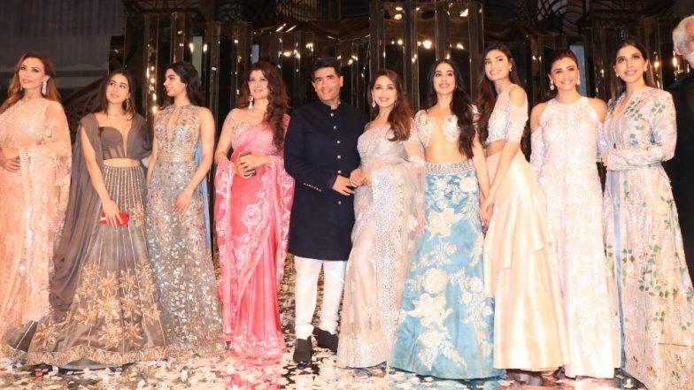Madhuri Dixit, Bhumi Pednekar, Athiya Shetty, Sara Ali Khan, Janhvi Kapoor - All the ladies who rocked the ramp at Manish Malhotra's Fashion Show