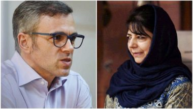 Jammu And Kashmir: Omar Abdullah, Mehbooba Mufti Allowed to Meet Families Nearly Month After Abrogation of Article 370, Says Report