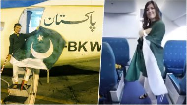 Polish Tourist's Kiki Challenge on PIA Plane to Celebrate Pakistan Independence Day Goes Viral; NAB Slams the National Flag Carrier