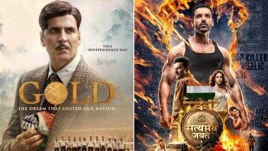 Akshay Kumar's Gold or John Abraham's Satyameva Jayate: Which Movie Won The Box Office Race? Here's The Truth!
