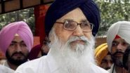 Parkash Singh Badal Returns Padma Vibhushan to Protest Against 'Betrayal of Farmers' by Government